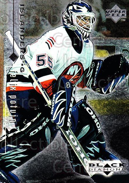 1998-99 Black Diamond #54 Felix Potvin<br/>7 In Stock - $1.00 each - <a href=https://centericecollectibles.foxycart.com/cart?name=1998-99%20Black%20Diamond%20%2354%20Felix%20Potvin...&quantity_max=7&price=$1.00&code=66671 class=foxycart> Buy it now! </a>
