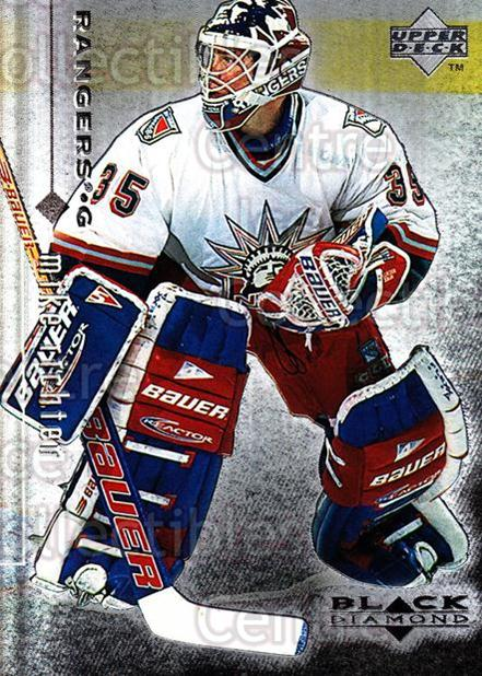 1998-99 Black Diamond #58 Mike Richter<br/>10 In Stock - $1.00 each - <a href=https://centericecollectibles.foxycart.com/cart?name=1998-99%20Black%20Diamond%20%2358%20Mike%20Richter...&quantity_max=10&price=$1.00&code=66675 class=foxycart> Buy it now! </a>