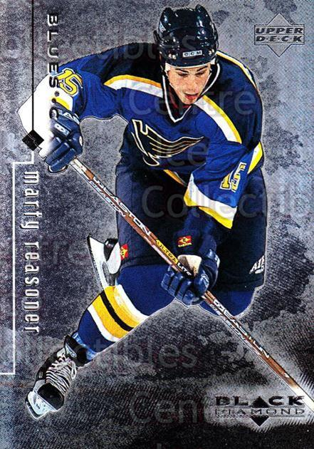 1998-99 Black Diamond #76 Marty Reasoner<br/>9 In Stock - $1.00 each - <a href=https://centericecollectibles.foxycart.com/cart?name=1998-99%20Black%20Diamond%20%2376%20Marty%20Reasoner...&quantity_max=9&price=$1.00&code=66695 class=foxycart> Buy it now! </a>