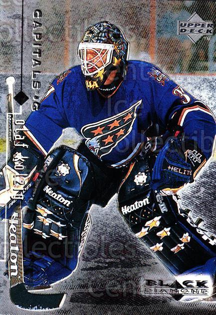 1998-99 Black Diamond #89 Olaf Kolzig<br/>9 In Stock - $1.00 each - <a href=https://centericecollectibles.foxycart.com/cart?name=1998-99%20Black%20Diamond%20%2389%20Olaf%20Kolzig...&quantity_max=9&price=$1.00&code=66708 class=foxycart> Buy it now! </a>