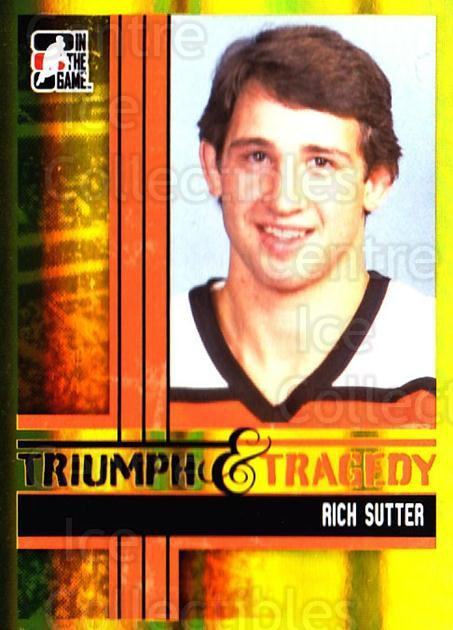 2011-12 ITG Broad Street Boys Gold #49 Rich Sutter<br/>1 In Stock - $5.00 each - <a href=https://centericecollectibles.foxycart.com/cart?name=2011-12%20ITG%20Broad%20Street%20Boys%20Gold%20%2349%20Rich%20Sutter...&quantity_max=1&price=$5.00&code=667108 class=foxycart> Buy it now! </a>
