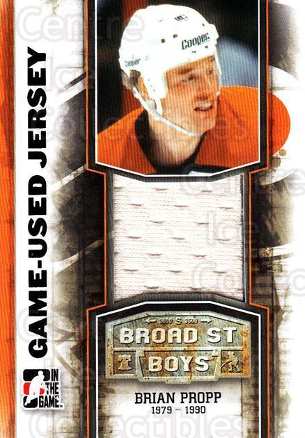 2011-12 ITG Broad Street Boys Jerseys #28 Brian Propp<br/>1 In Stock - $10.00 each - <a href=https://centericecollectibles.foxycart.com/cart?name=2011-12%20ITG%20Broad%20Street%20Boys%20Jerseys%20%2328%20Brian%20Propp...&quantity_max=1&price=$10.00&code=667162 class=foxycart> Buy it now! </a>