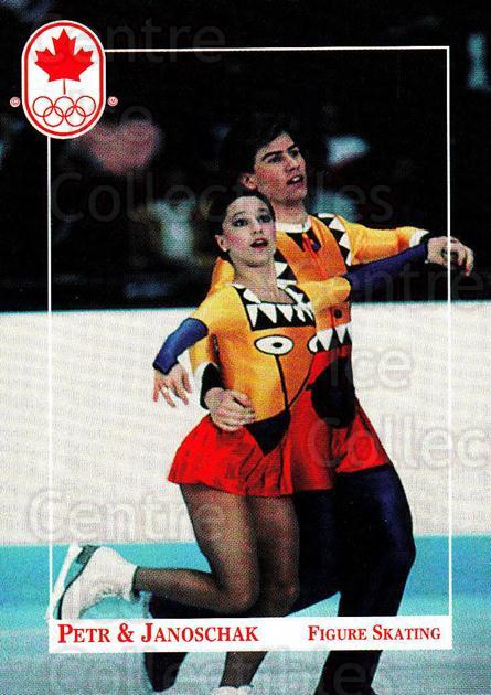 1992 Canadian Olympic Hopefuls #28 Jacqueline Petr, Mark Janoschak<br/>3 In Stock - $2.00 each - <a href=https://centericecollectibles.foxycart.com/cart?name=1992%20Canadian%20Olympic%20Hopefuls%20%2328%20Jacqueline%20Petr...&quantity_max=3&price=$2.00&code=667326 class=foxycart> Buy it now! </a>