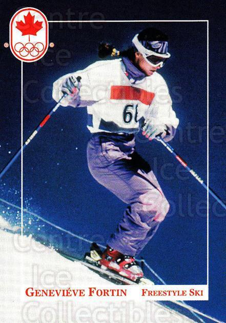 1992 Canadian Olympic Hopefuls #79 Genevieve Fortin<br/>3 In Stock - $2.00 each - <a href=https://centericecollectibles.foxycart.com/cart?name=1992%20Canadian%20Olympic%20Hopefuls%20%2379%20Genevieve%20Forti...&price=$2.00&code=667377 class=foxycart> Buy it now! </a>