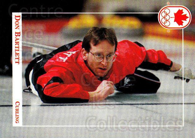 1992 Canadian Olympic Hopefuls #88 Don Bartlett<br/>2 In Stock - $2.00 each - <a href=https://centericecollectibles.foxycart.com/cart?name=1992%20Canadian%20Olympic%20Hopefuls%20%2388%20Don%20Bartlett...&price=$2.00&code=667386 class=foxycart> Buy it now! </a>