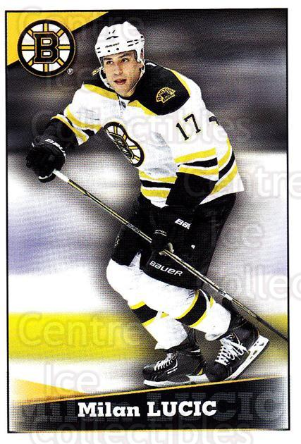 2012-13 Panini Stickers #34 Milan Lucic<br/>6 In Stock - $1.00 each - <a href=https://centericecollectibles.foxycart.com/cart?name=2012-13%20Panini%20Stickers%20%2334%20Milan%20Lucic...&quantity_max=6&price=$1.00&code=667664 class=foxycart> Buy it now! </a>