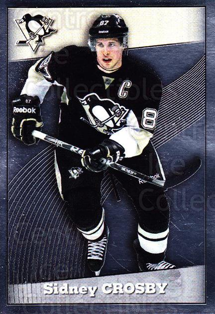 2012-13 Panini Stickers #121 Sidney Crosby<br/>4 In Stock - $5.00 each - <a href=https://centericecollectibles.foxycart.com/cart?name=2012-13%20Panini%20Stickers%20%23121%20Sidney%20Crosby...&quantity_max=4&price=$5.00&code=667751 class=foxycart> Buy it now! </a>
