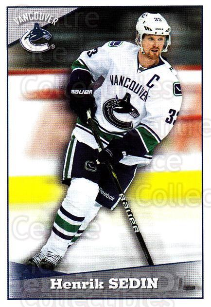 2012-13 Panini Stickers #297 Henrik Sedin<br/>6 In Stock - $1.00 each - <a href=https://centericecollectibles.foxycart.com/cart?name=2012-13%20Panini%20Stickers%20%23297%20Henrik%20Sedin...&quantity_max=6&price=$1.00&code=667927 class=foxycart> Buy it now! </a>