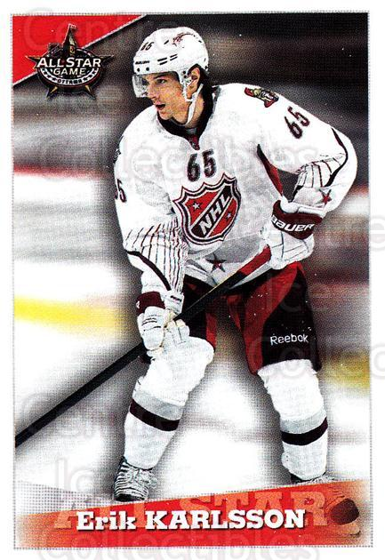2012-13 Panini Stickers #314 Erik Karlsson<br/>5 In Stock - $2.00 each - <a href=https://centericecollectibles.foxycart.com/cart?name=2012-13%20Panini%20Stickers%20%23314%20Erik%20Karlsson...&quantity_max=5&price=$2.00&code=667944 class=foxycart> Buy it now! </a>