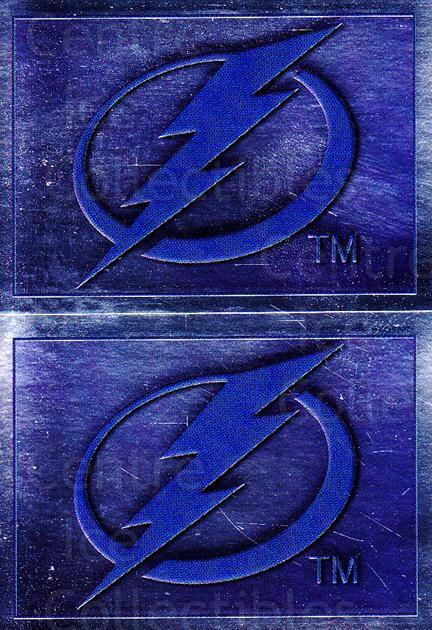 2012-13 Panini Stickers Team Logo Foils #13-42 Tampa Bay Lightning<br/>6 In Stock - $1.00 each - <a href=https://centericecollectibles.foxycart.com/cart?name=2012-13%20Panini%20Stickers%20Team%20Logo%20Foils%20%2313-42%20Tampa%20Bay%20Light...&quantity_max=6&price=$1.00&code=667973 class=foxycart> Buy it now! </a>