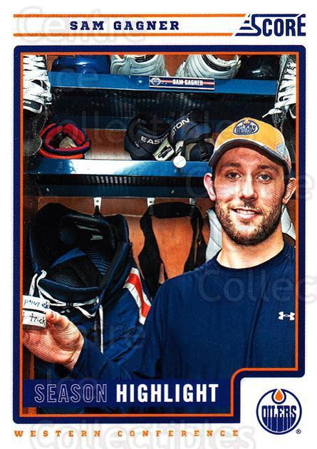 2012-13 Score #31 Sam Gagner<br/>1 In Stock - $1.00 each - <a href=https://centericecollectibles.foxycart.com/cart?name=2012-13%20Score%20%2331%20Sam%20Gagner...&quantity_max=1&price=$1.00&code=668329 class=foxycart> Buy it now! </a>