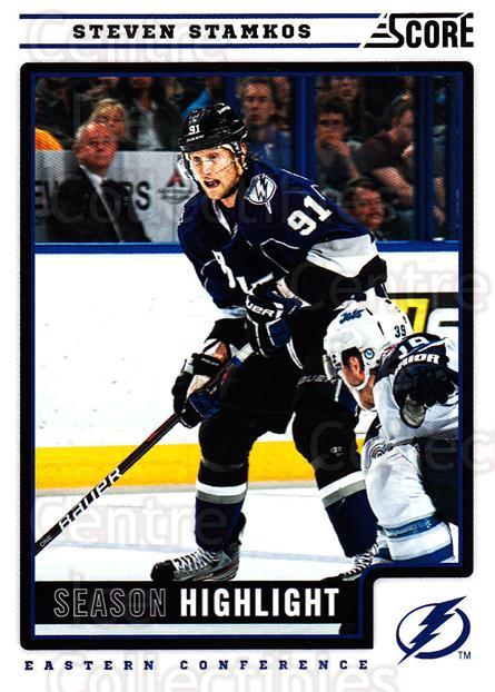 2012-13 Score #39 Steven Stamkos<br/>2 In Stock - $2.00 each - <a href=https://centericecollectibles.foxycart.com/cart?name=2012-13%20Score%20%2339%20Steven%20Stamkos...&quantity_max=2&price=$2.00&code=668337 class=foxycart> Buy it now! </a>