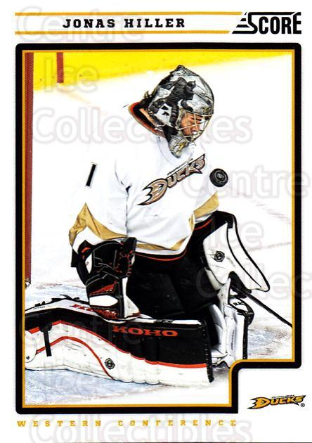 2012-13 Score #47 Jonas Hiller<br/>1 In Stock - $1.00 each - <a href=https://centericecollectibles.foxycart.com/cart?name=2012-13%20Score%20%2347%20Jonas%20Hiller...&quantity_max=1&price=$1.00&code=668345 class=foxycart> Buy it now! </a>