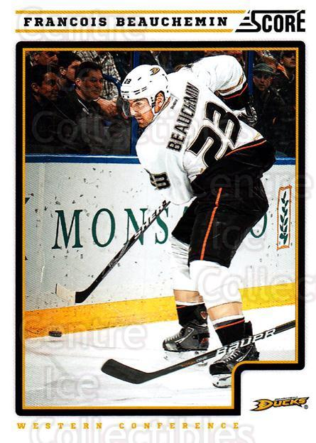 2012-13 Score #51 Francois Beauchemin<br/>2 In Stock - $1.00 each - <a href=https://centericecollectibles.foxycart.com/cart?name=2012-13%20Score%20%2351%20Francois%20Beauch...&quantity_max=2&price=$1.00&code=668349 class=foxycart> Buy it now! </a>