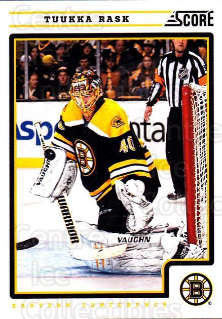 2012-13 Score #64 Tuukka Rask<br/>2 In Stock - $2.00 each - <a href=https://centericecollectibles.foxycart.com/cart?name=2012-13%20Score%20%2364%20Tuukka%20Rask...&quantity_max=2&price=$2.00&code=668362 class=foxycart> Buy it now! </a>