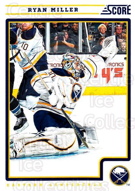 2012-13 Score #71 Ryan Miller<br/>1 In Stock - $1.00 each - <a href=https://centericecollectibles.foxycart.com/cart?name=2012-13%20Score%20%2371%20Ryan%20Miller...&quantity_max=1&price=$1.00&code=668369 class=foxycart> Buy it now! </a>