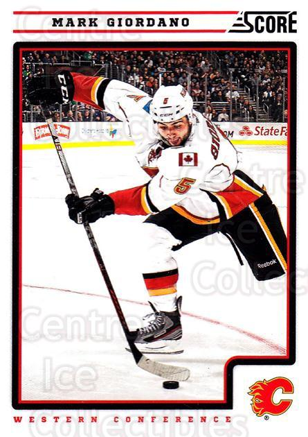 2012-13 Score #97 Mark Giordano<br/>2 In Stock - $1.00 each - <a href=https://centericecollectibles.foxycart.com/cart?name=2012-13%20Score%20%2397%20Mark%20Giordano...&quantity_max=2&price=$1.00&code=668395 class=foxycart> Buy it now! </a>