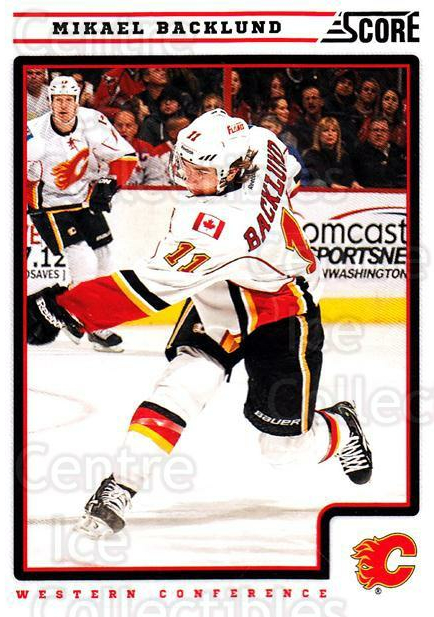2012-13 Score #98 Mikael Backlund<br/>1 In Stock - $1.00 each - <a href=https://centericecollectibles.foxycart.com/cart?name=2012-13%20Score%20%2398%20Mikael%20Backlund...&quantity_max=1&price=$1.00&code=668396 class=foxycart> Buy it now! </a>