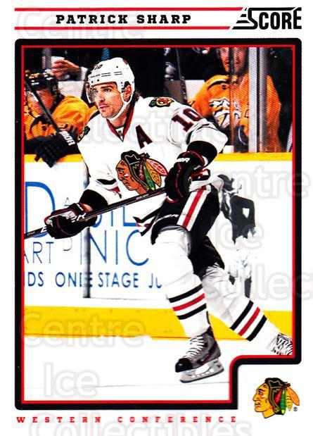 2012-13 Score #117 Patrick Sharp<br/>2 In Stock - $1.00 each - <a href=https://centericecollectibles.foxycart.com/cart?name=2012-13%20Score%20%23117%20Patrick%20Sharp...&quantity_max=2&price=$1.00&code=668415 class=foxycart> Buy it now! </a>