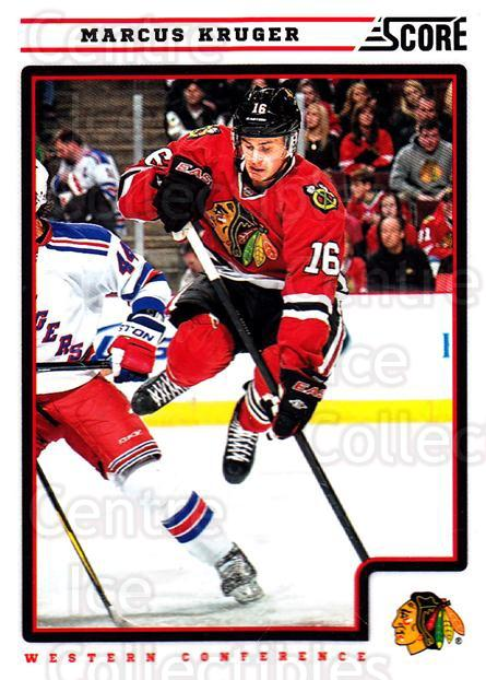 2012-13 Score #128 Marcus Kruger<br/>1 In Stock - $1.00 each - <a href=https://centericecollectibles.foxycart.com/cart?name=2012-13%20Score%20%23128%20Marcus%20Kruger...&quantity_max=1&price=$1.00&code=668426 class=foxycart> Buy it now! </a>
