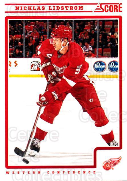 2012-13 Score #177 Nicklas Lidstrom<br/>1 In Stock - $1.00 each - <a href=https://centericecollectibles.foxycart.com/cart?name=2012-13%20Score%20%23177%20Nicklas%20Lidstro...&quantity_max=1&price=$1.00&code=668475 class=foxycart> Buy it now! </a>