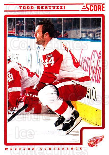 2012-13 Score #184 Todd Bertuzzi<br/>1 In Stock - $1.00 each - <a href=https://centericecollectibles.foxycart.com/cart?name=2012-13%20Score%20%23184%20Todd%20Bertuzzi...&quantity_max=1&price=$1.00&code=668482 class=foxycart> Buy it now! </a>