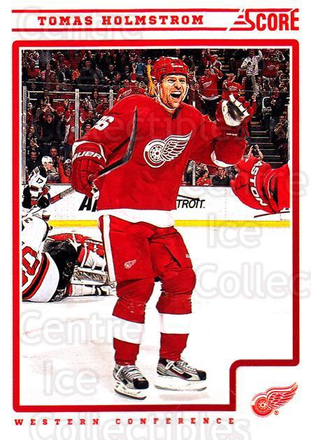 2012-13 Score #188 Tomas Holmstrom<br/>2 In Stock - $1.00 each - <a href=https://centericecollectibles.foxycart.com/cart?name=2012-13%20Score%20%23188%20Tomas%20Holmstrom...&quantity_max=2&price=$1.00&code=668486 class=foxycart> Buy it now! </a>
