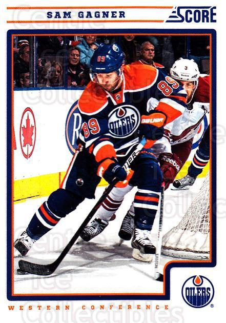 2012-13 Score #197 Sam Gagner<br/>2 In Stock - $1.00 each - <a href=https://centericecollectibles.foxycart.com/cart?name=2012-13%20Score%20%23197%20Sam%20Gagner...&quantity_max=2&price=$1.00&code=668495 class=foxycart> Buy it now! </a>