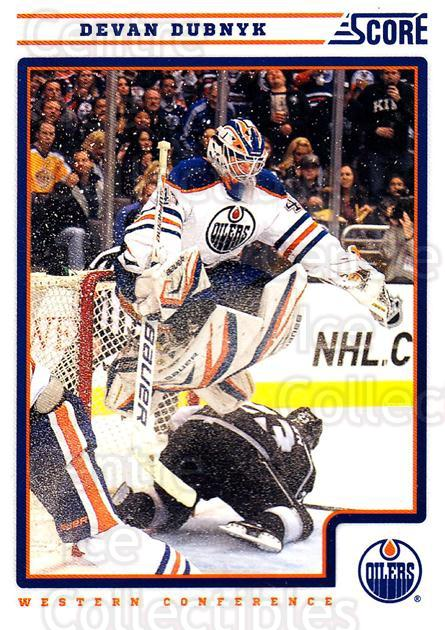 2012-13 Score #199 Devan Dubnyk<br/>2 In Stock - $1.00 each - <a href=https://centericecollectibles.foxycart.com/cart?name=2012-13%20Score%20%23199%20Devan%20Dubnyk...&quantity_max=2&price=$1.00&code=668497 class=foxycart> Buy it now! </a>