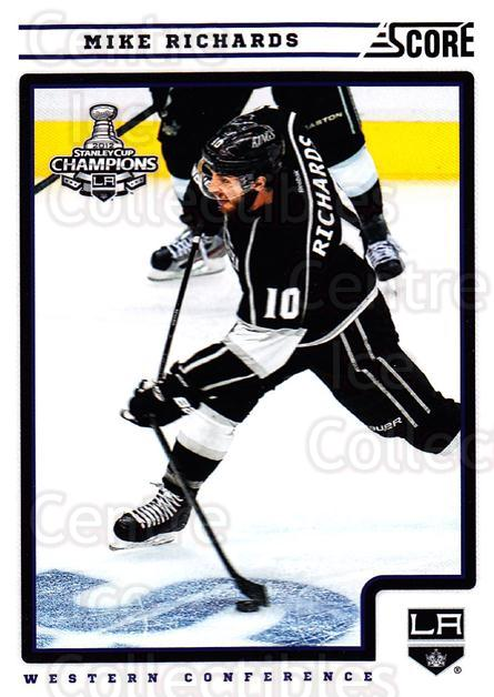 2012-13 Score #227 Mike Richards<br/>2 In Stock - $1.00 each - <a href=https://centericecollectibles.foxycart.com/cart?name=2012-13%20Score%20%23227%20Mike%20Richards...&quantity_max=2&price=$1.00&code=668525 class=foxycart> Buy it now! </a>