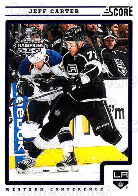 2012-13 Score #229 Jeff Carter<br/>1 In Stock - $1.00 each - <a href=https://centericecollectibles.foxycart.com/cart?name=2012-13%20Score%20%23229%20Jeff%20Carter...&quantity_max=1&price=$1.00&code=668527 class=foxycart> Buy it now! </a>