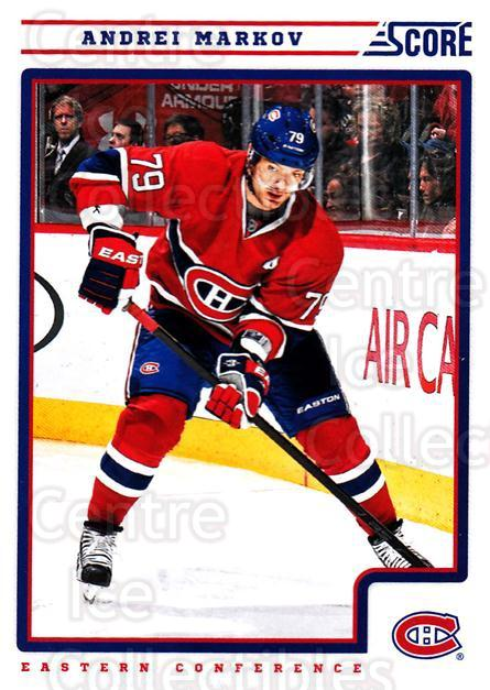2012-13 Score #252 Andrei Markov<br/>1 In Stock - $1.00 each - <a href=https://centericecollectibles.foxycart.com/cart?name=2012-13%20Score%20%23252%20Andrei%20Markov...&quantity_max=1&price=$1.00&code=668550 class=foxycart> Buy it now! </a>