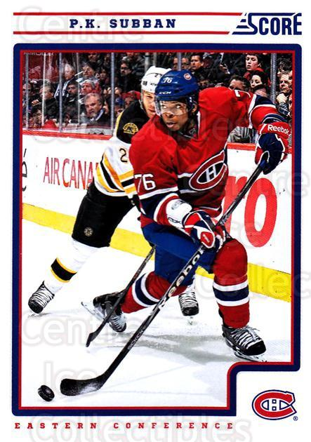 2012-13 Score #257 PK Subban<br/>2 In Stock - $1.00 each - <a href=https://centericecollectibles.foxycart.com/cart?name=2012-13%20Score%20%23257%20PK%20Subban...&quantity_max=2&price=$1.00&code=668555 class=foxycart> Buy it now! </a>
