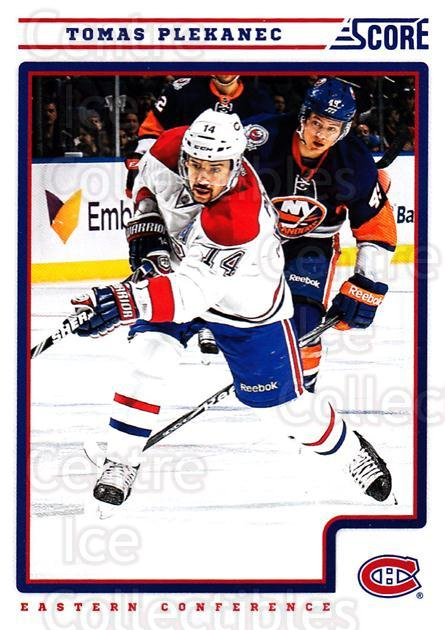 2012-13 Score #258 Tomas Plekanec<br/>2 In Stock - $1.00 each - <a href=https://centericecollectibles.foxycart.com/cart?name=2012-13%20Score%20%23258%20Tomas%20Plekanec...&quantity_max=2&price=$1.00&code=668556 class=foxycart> Buy it now! </a>