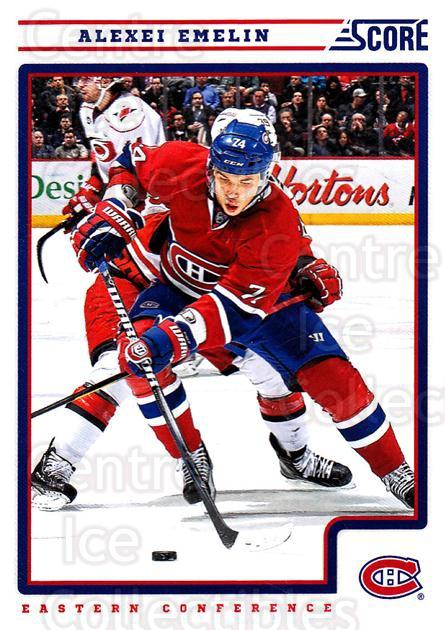 2012-13 Score #265 Alexei Emelin<br/>2 In Stock - $1.00 each - <a href=https://centericecollectibles.foxycart.com/cart?name=2012-13%20Score%20%23265%20Alexei%20Emelin...&quantity_max=2&price=$1.00&code=668563 class=foxycart> Buy it now! </a>