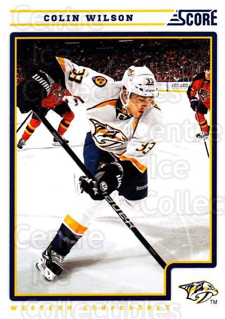 2012-13 Score #277 Colin Wilson<br/>2 In Stock - $1.00 each - <a href=https://centericecollectibles.foxycart.com/cart?name=2012-13%20Score%20%23277%20Colin%20Wilson...&quantity_max=2&price=$1.00&code=668575 class=foxycart> Buy it now! </a>