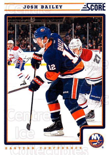 2012-13 Score #304 Josh Bailey<br/>1 In Stock - $1.00 each - <a href=https://centericecollectibles.foxycart.com/cart?name=2012-13%20Score%20%23304%20Josh%20Bailey...&quantity_max=1&price=$1.00&code=668602 class=foxycart> Buy it now! </a>