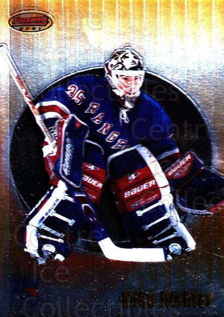 1998-99 Bowmans Best #43 Mike Richter<br/>7 In Stock - $1.00 each - <a href=https://centericecollectibles.foxycart.com/cart?name=1998-99%20Bowmans%20Best%20%2343%20Mike%20Richter...&quantity_max=7&price=$1.00&code=66861 class=foxycart> Buy it now! </a>
