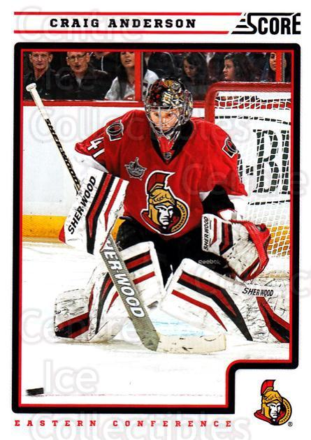 2012-13 Score #330 Craig Anderson<br/>1 In Stock - $1.00 each - <a href=https://centericecollectibles.foxycart.com/cart?name=2012-13%20Score%20%23330%20Craig%20Anderson...&quantity_max=1&price=$1.00&code=668628 class=foxycart> Buy it now! </a>
