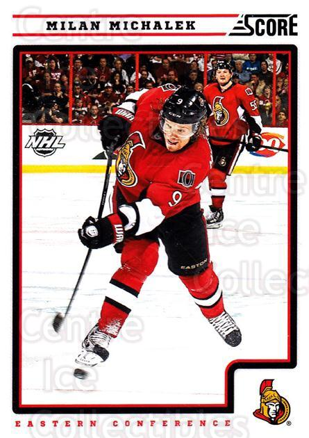 2012-13 Score #331 Milan Michalek<br/>2 In Stock - $1.00 each - <a href=https://centericecollectibles.foxycart.com/cart?name=2012-13%20Score%20%23331%20Milan%20Michalek...&quantity_max=2&price=$1.00&code=668629 class=foxycart> Buy it now! </a>