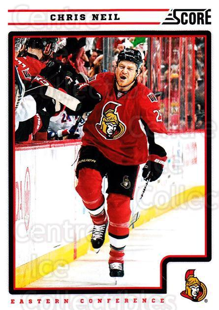 2012-13 Score #338 Chris Neil<br/>1 In Stock - $1.00 each - <a href=https://centericecollectibles.foxycart.com/cart?name=2012-13%20Score%20%23338%20Chris%20Neil...&quantity_max=1&price=$1.00&code=668636 class=foxycart> Buy it now! </a>