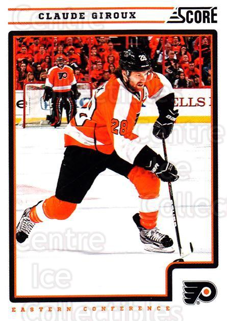2012-13 Score #341 Claude Giroux<br/>1 In Stock - $1.00 each - <a href=https://centericecollectibles.foxycart.com/cart?name=2012-13%20Score%20%23341%20Claude%20Giroux...&quantity_max=1&price=$1.00&code=668639 class=foxycart> Buy it now! </a>