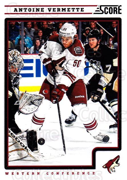 2012-13 Score #367 Antoine Vermette<br/>2 In Stock - $1.00 each - <a href=https://centericecollectibles.foxycart.com/cart?name=2012-13%20Score%20%23367%20Antoine%20Vermett...&quantity_max=2&price=$1.00&code=668665 class=foxycart> Buy it now! </a>