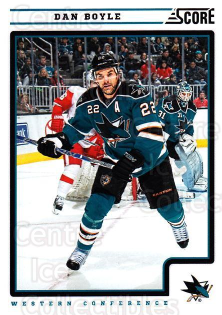 2012-13 Score #388 Dan Boyle<br/>2 In Stock - $1.00 each - <a href=https://centericecollectibles.foxycart.com/cart?name=2012-13%20Score%20%23388%20Dan%20Boyle...&quantity_max=2&price=$1.00&code=668686 class=foxycart> Buy it now! </a>
