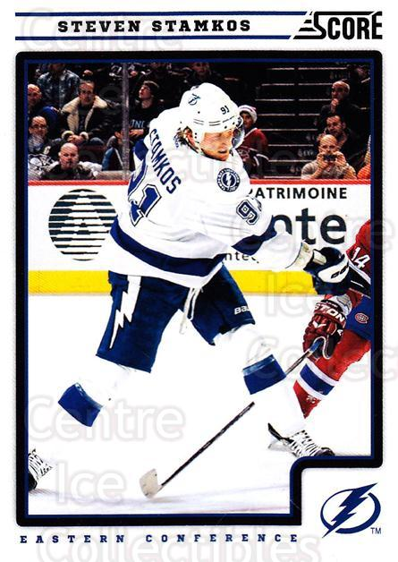 2012-13 Score #416 Steven Stamkos<br/>1 In Stock - $1.00 each - <a href=https://centericecollectibles.foxycart.com/cart?name=2012-13%20Score%20%23416%20Steven%20Stamkos...&price=$1.00&code=668714 class=foxycart> Buy it now! </a>