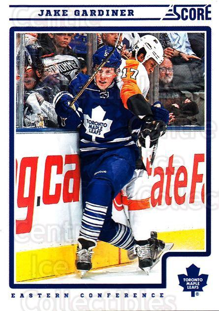 2012-13 Score #435 Jake Gardiner<br/>2 In Stock - $1.00 each - <a href=https://centericecollectibles.foxycart.com/cart?name=2012-13%20Score%20%23435%20Jake%20Gardiner...&quantity_max=2&price=$1.00&code=668733 class=foxycart> Buy it now! </a>