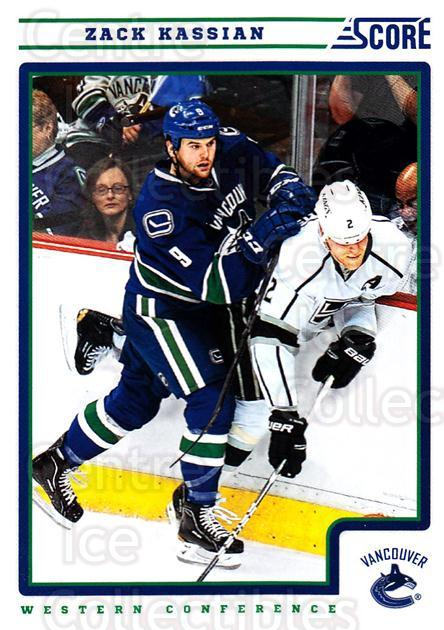 2012-13 Score #455 Zack Kassian<br/>2 In Stock - $1.00 each - <a href=https://centericecollectibles.foxycart.com/cart?name=2012-13%20Score%20%23455%20Zack%20Kassian...&quantity_max=2&price=$1.00&code=668753 class=foxycart> Buy it now! </a>
