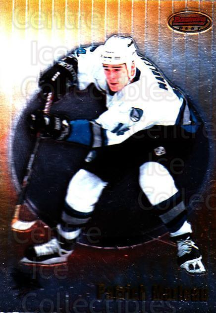 1998-99 Bowmans Best #60 Patrick Marleau<br/>6 In Stock - $1.00 each - <a href=https://centericecollectibles.foxycart.com/cart?name=1998-99%20Bowmans%20Best%20%2360%20Patrick%20Marleau...&quantity_max=6&price=$1.00&code=66880 class=foxycart> Buy it now! </a>