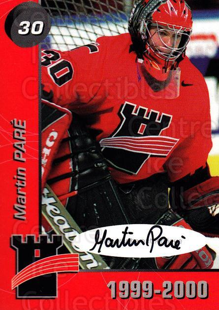 1999-00 Quebec Remparts Autographed #19 Martin Pare<br/>1 In Stock - $5.00 each - <a href=https://centericecollectibles.foxycart.com/cart?name=1999-00%20Quebec%20Remparts%20Autographed%20%2319%20Martin%20Pare...&price=$5.00&code=668951 class=foxycart> Buy it now! </a>