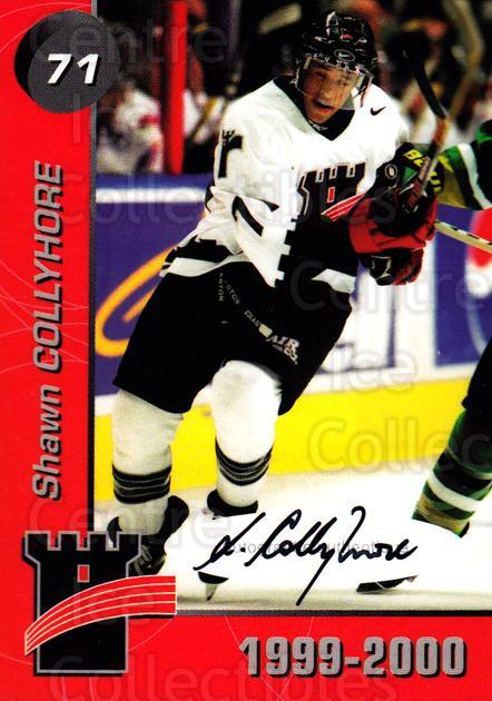 1999-00 Quebec Remparts Autographed #23 Shawn Collymore<br/>1 In Stock - $5.00 each - <a href=https://centericecollectibles.foxycart.com/cart?name=1999-00%20Quebec%20Remparts%20Autographed%20%2323%20Shawn%20Collymore...&price=$5.00&code=668955 class=foxycart> Buy it now! </a>